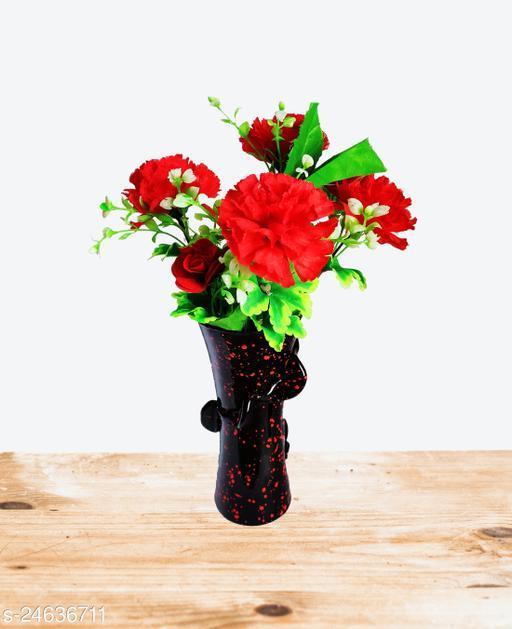 Royal look Decorative Glass Flower pot/Vase-A1