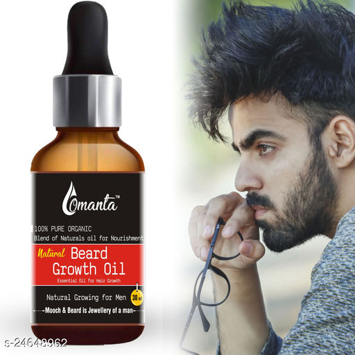 Natural Beard Growth Oil For Men and Boys Specially for Mooch, Beard & Dadhi Growth Hair Oil (30 ml)