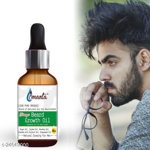 Stonger Beard Growth Oil For Men and Boys Specially for Mooch, Beard & Dadhi Growth Hair Oil (30 ml)