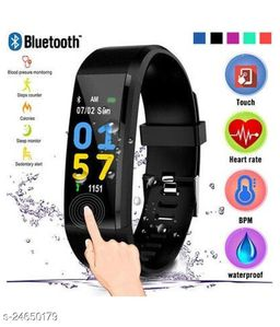 ID115 A Smart Fitness Band with Activity Tracker