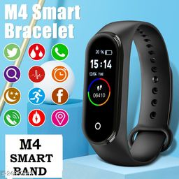 M4 Plus Bluetooth Fitness Band Smart Watch