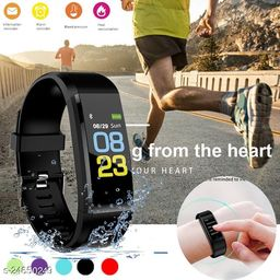 ID115 Smart Fitness Band for Heart Rate Tracker Watch