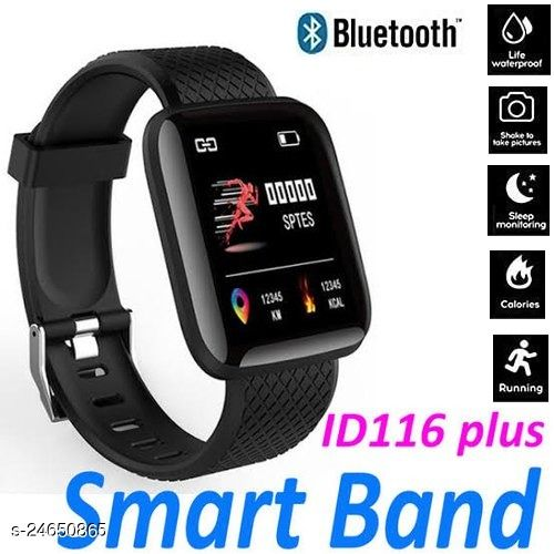 id116 Smart Fitness Band Activity Tracker with Heart Rate Sensor for Androids