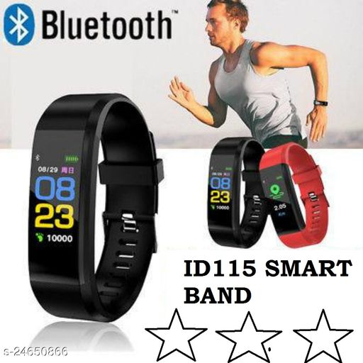 id115 Smart Fitness Band Activity Tracker with Heart Rate Sensor for Androids