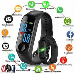 M3 Smart Fitness Band for Men and Women