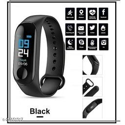 M3 Smart Band Heart Rate Moniter Fitness Band For Unisex
