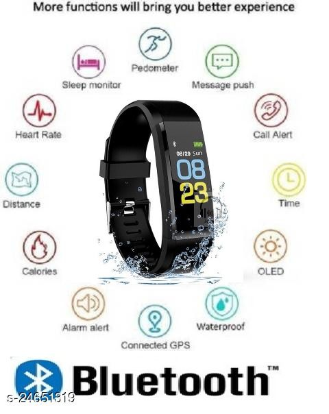 ID115 Smart Band Heart Rate Moniter Fitness Band For Unisex