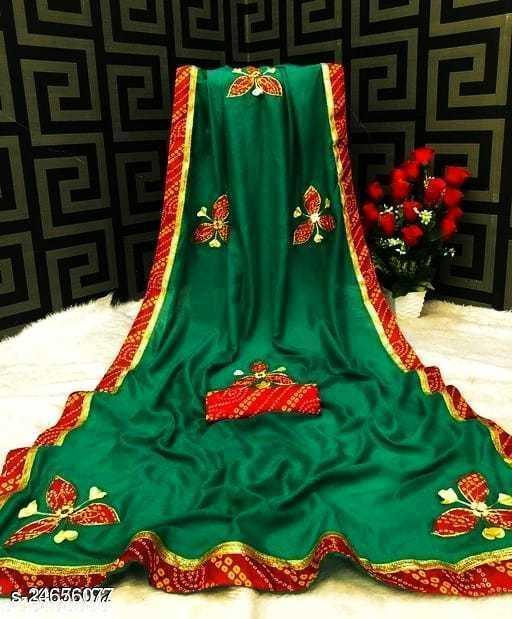 Piyuji Creation Tittali Silk Saree