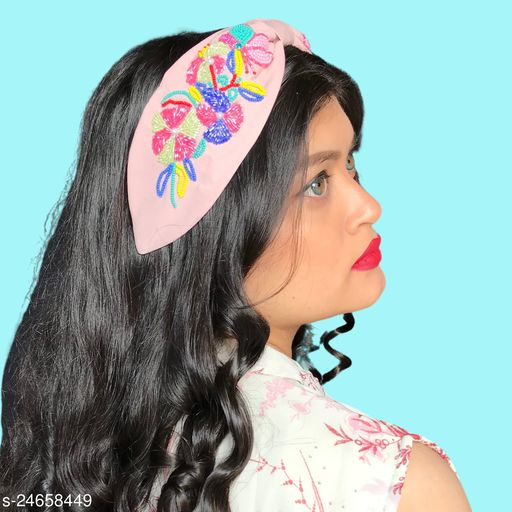 Shimmering Chunky Women Hair Accessories