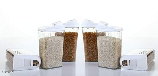 Easy Flow Multipurpose Storage Containers ( Set Of 6 )