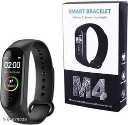 M4 Smart Band For All Smart Anroid Phones (Black)