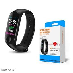 M3 Smart Band For All Smart Anroid Phones (Black)