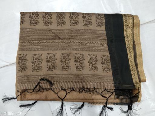 Stylish Cotton  Blend  Sarees