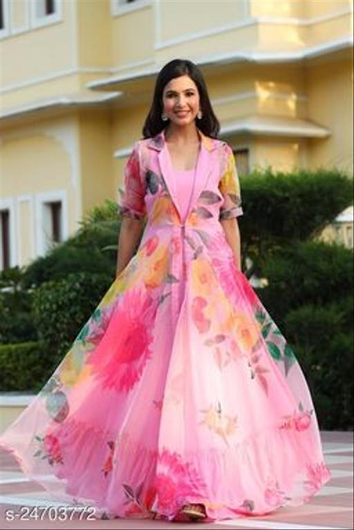 Blossom Evening Notched Collar Dress