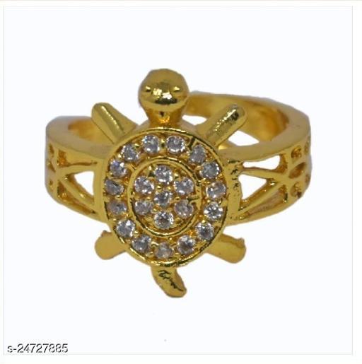 jweeli Meru Ring Adjustable Tortoise Ring for Men and Women for Good Luck