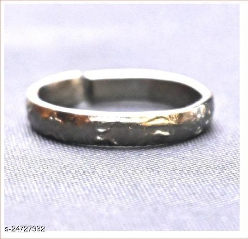 jweeli Black Horse Shoe Iron Ring Shani Dosh Niwaran Challa