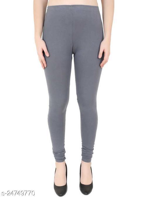 Girik Fashion Churidar Legging Grey Colour