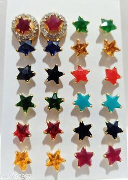Allure Glittering Earrings