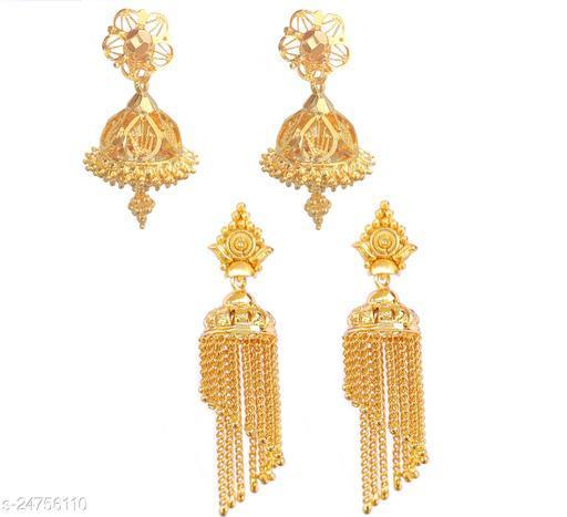 Shimmering Unique Earrings