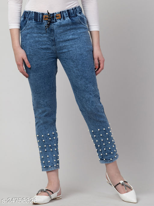 Trendy  Denim Women Jeans