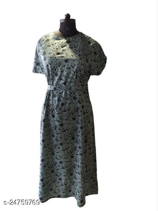 Trendy Feminine Women Maternity Dresses