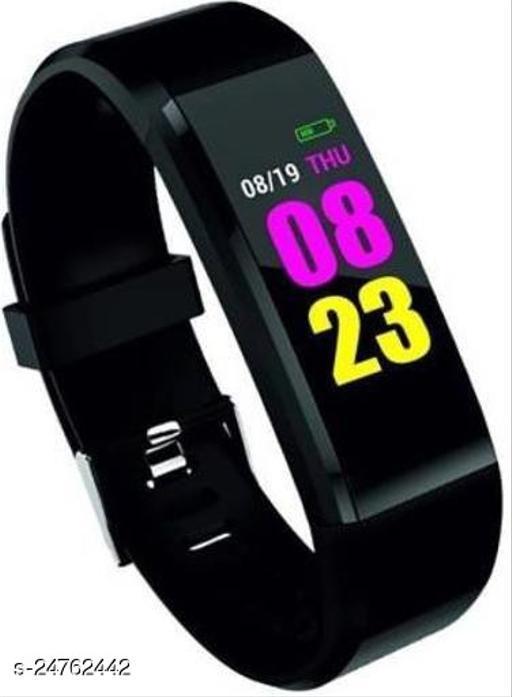 ID-115 Smart Fitness Tracker Black Band