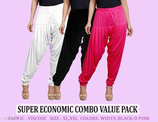 Fabulous Viscose Women's Patiala Pants
