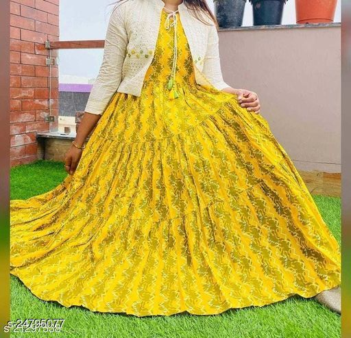 Women's Beautiful New Stylish Pompom Work Full Ghaira Tassels and Latkan Kurta with Jacket Set