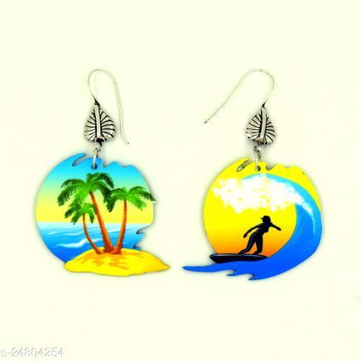 Beach Vacation Dangling Earrings