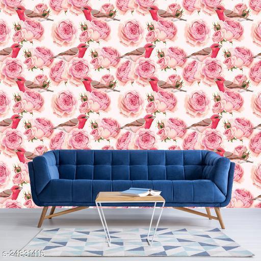 DSticker Wallpaper Style BirdFlower Size Large(40cm x 300cm)