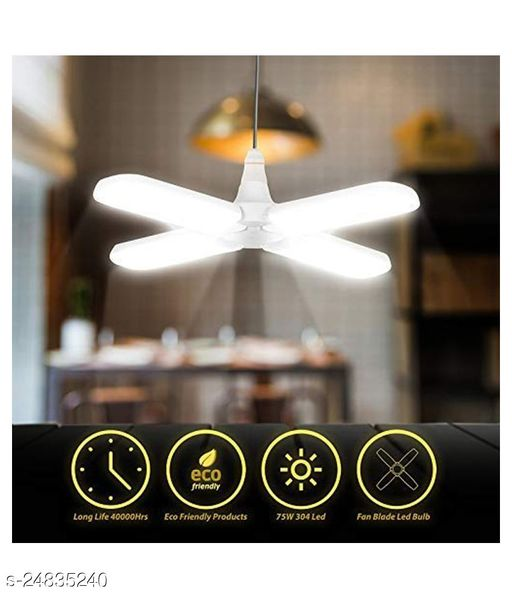 Start Creation Fan Style 4 wings 60W LED Bulb Cool Day Light