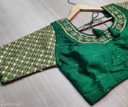 embroidery work beautifull blouse