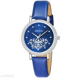 Walrus Beautiful II Series Blue Dial Women Wristwatch