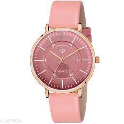 Walrus Venice IV Series Pink Dial Women Wristwatch