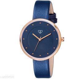Walrus Venice III Series Blue Dial Women Wristwatch