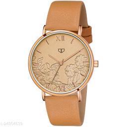 Walrus Venice VI Series Gold Dial Women Wristwatch