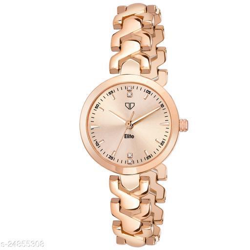 Walrus Elite VIII Series Rose Gold Premium Women Wristwatch