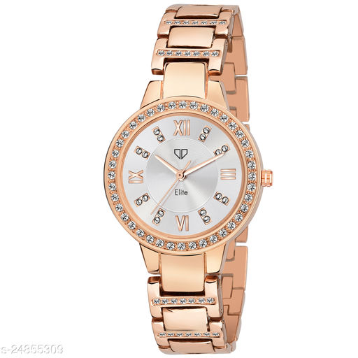 Walrus Elite VII Series Rose Gold Premium Women Wristwatch