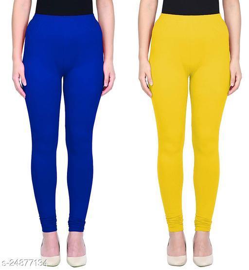 Premium Quality Combo Cotton Multicolor Legging for Women