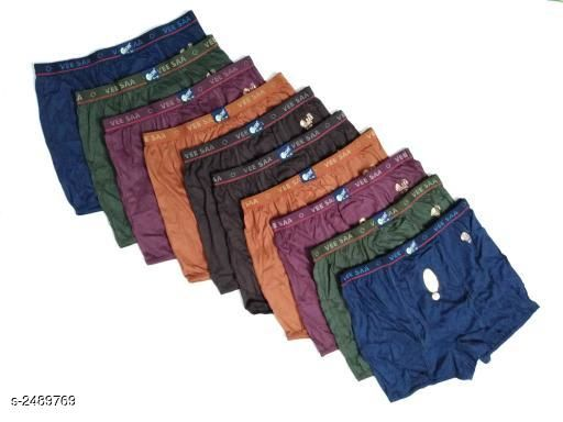 Stylish Men's Cotton Briefs Combo