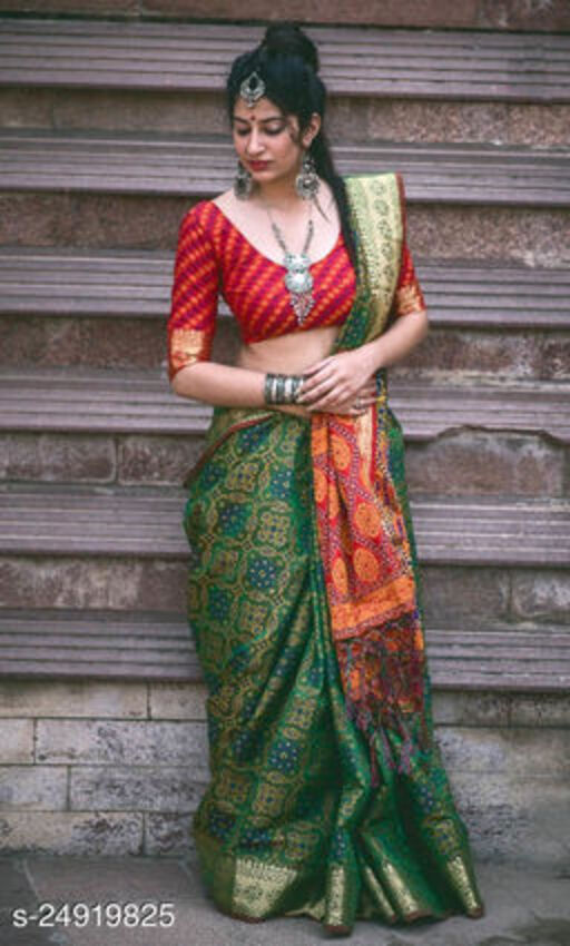 Trendy Refined Banarasi Silk Sarees