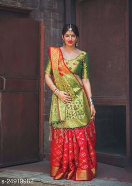 Voguish Banarasi Silk Sarees