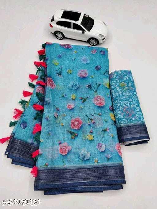 Trendy Digital Printed Saree