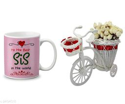 Home Devine Elegant Ceramic Printed Mug