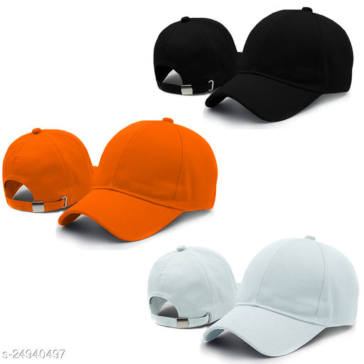 Pack of 3 sports cap combo