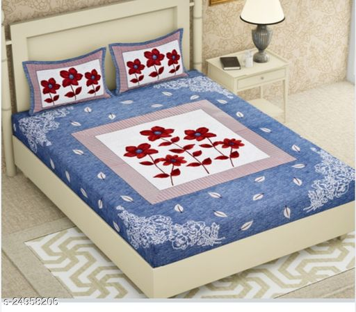 New Design Double Bedsheet for home furnishing