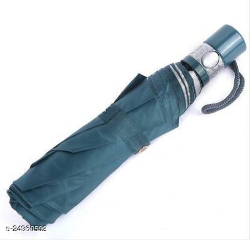 Attractive Blue Synthetic Umbrellas
