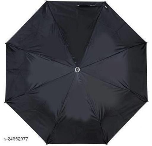 Attractive Black Polyester Umbrellas