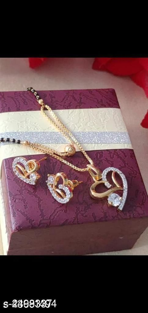 MANGAL SUTRA WITH EARRINGS SET