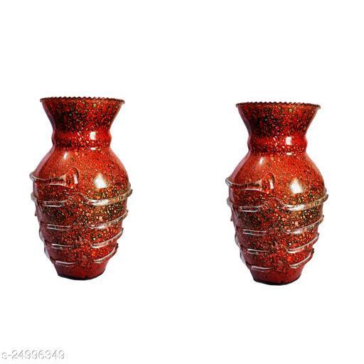Stylish Home Decorative Glass Flower pot/Vase, Set Of Two-WE24